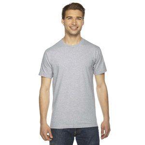 NWT American Apparel USA Made T-Shirt Medium Gray